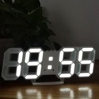 무소음칼라 LED 벽걸이시계 벽시계 알람 온도계 탁상