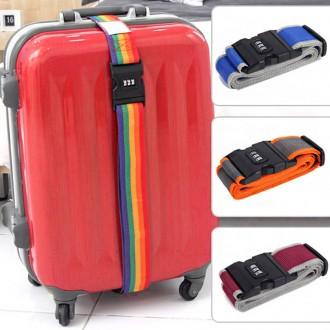 [루키] 여행용 잠금벨트 여행가방 캐리어 보호장치 잠
