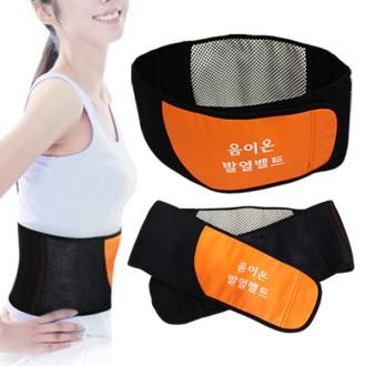 토르마린 음이온 발열벨트 찜질벨트 허리보호대 자가