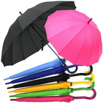 [솔리드곡자우산14k]장우산 자동우산 답례품 인쇄가능
