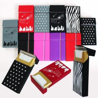 실리콘 담배케이스 에쎄형 라이터 지갑 케이스 메탈