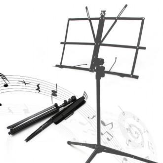 휴대용 보면대 가방포함 스탠드 악보대 기타 악기