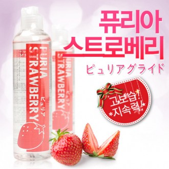 [퓨리아 스트로베리 250ml] 달콤한 딸기향 바디마사지