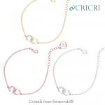 CRICRI 스와로브스키크리스탈 팔찌 B1291/B1328/B1635