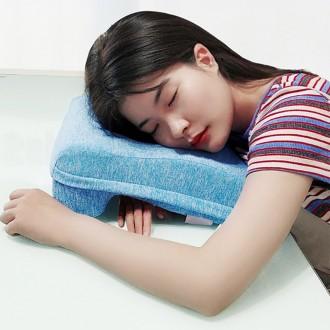 메모리폼 낮잠베개 수면세트(안대+귀마개)