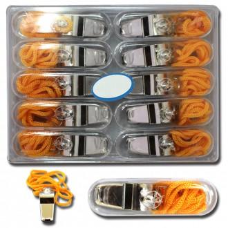호루라기 10개 휘슬 호각 축구호루라기 메탈호루라기