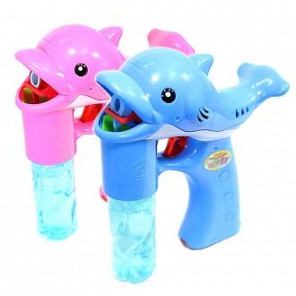 돌고래자동버블건 비눗방울놀이 비누방울총 어린이선