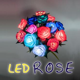 LED장미 LED플라워 꽃다발 발렌타인데이화이트데이 졸