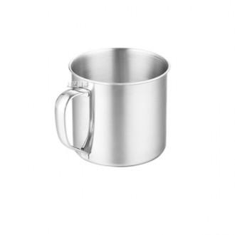 손잡이 등산컵 8cm/스텐컵/머그잔/머그컵/스테인리스/