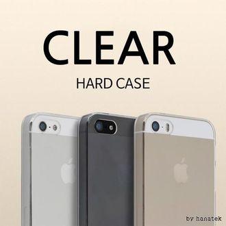 [하나텍]클리어투명하드케이스/핸드폰케이스/아이폰7/