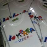 코리아(대한민국) 전사 면티셔츠/반팔티셔츠-국산