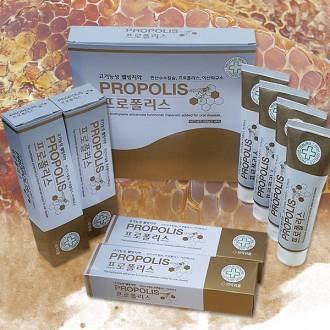 프로폴리스 치약4p세트/기능성웰빙치약/치약/프로폴리