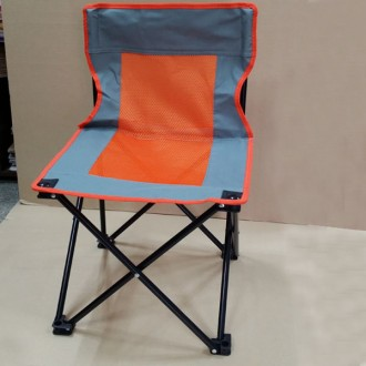 망사 등받이 접이식 의자 (보관용 파우치 포함)