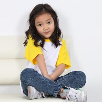 [티티뱅크/단체복 전문]30수 아동 나그랑 반팔/단체티