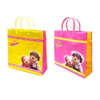 테디베어 곰돌이 쇼핑백 다용도 가방 30x30x10cm