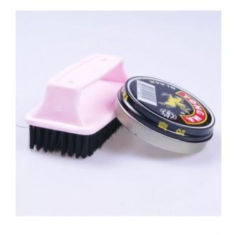 구두약 솔세트(흑색) /액체구두약/구두닦이/구두광택/