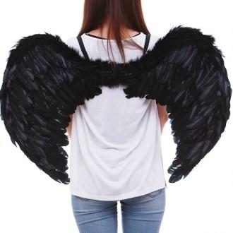 천사날개(대)블랙/날개/천사날개/천사소품/악마날개/