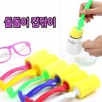 월드온 컵닦이 컵수세미 설겆이용품 스펀지클리너 매