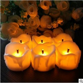 LED미니양초 LED티라아트 이벤트초 전자양초 촛불 Tea