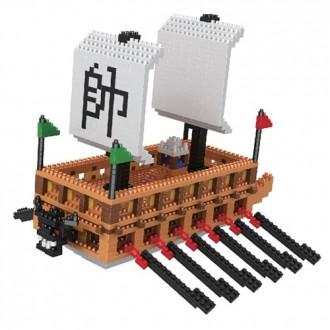 18000 판옥선 나노블럭 레고 만들기 완구 장난감 미니