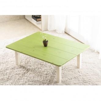 이믹스 다용도 테이블(B)그린워시/밥상/좌식책상/교자