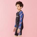 래쉬가드 720네온블랙 유아아동/주니어수영복