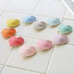 [이레보우] 파스텔 미니하트 똑딱핀-10color