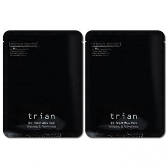트리앙 / 3GF 이중기능성 마스크팩 / 미백/ 주름 3GF