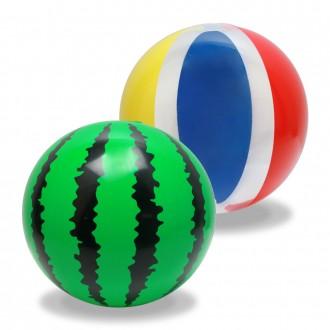 색동수박비치볼(혼합)/수박비치볼/색동비치볼/비치볼
