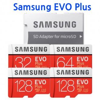 삼성정품 에보plus 메모리카드 32G 64G SD어댑터포함