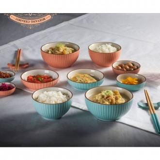 프리미엄 그릇세트 14p 홈세트 공기 대접 밥그릇 접시