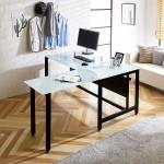 철제책상+사이드테이블 사무실책상 서재책상