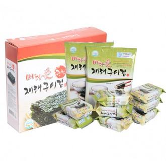 명품 광천재래김 혼합 세트 전장2봉+도시락8봉