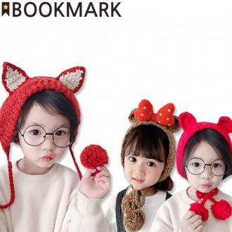 북마크몰) 5300 아동겨울머플러 모음전/방울모자/아동
