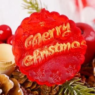 크리스마스선물세트 디자인수제비누[1구+리본포장]