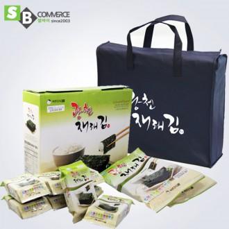 명절선물 광천재래김 10봉+부직포가방 명절선물세트