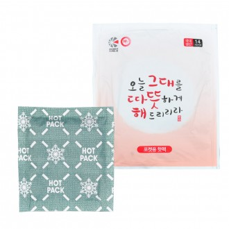 해피데이 포켓용핫팩100g/주머니핫팩/손난로/대용량