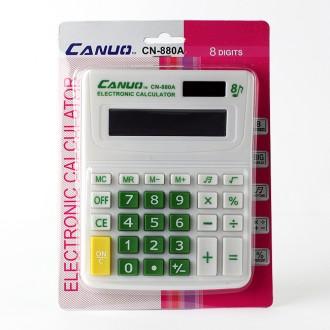 팬시 8자리 전자 계산기(14.5cm×10.5cm)