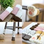 [도매큐] 디자인 의자발커버 의자다리커버 의자양말