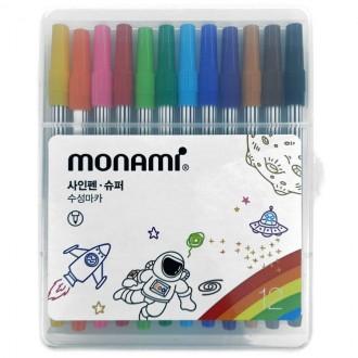 싸인펜 3000싸인펜 슈퍼싸인펜 모나미수성싸인펜 12개