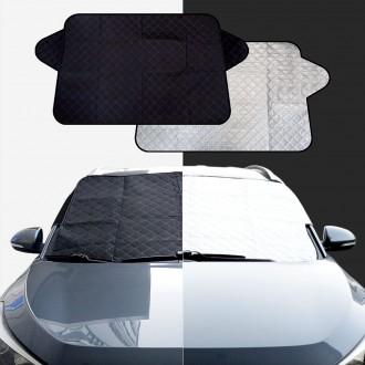 2기능 양면 앞창가리개/햇빛차단 성에방지커버