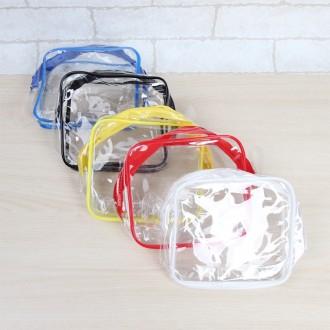 투명 파우치/파우치/다용도파우치/칼라파우치/가방