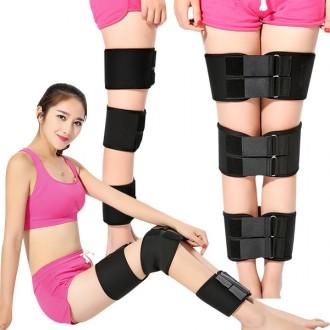 3중다리보정벨트 오다리 휜다리 허벅지 발목고정
