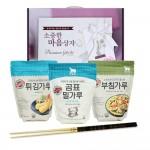 곰표 큐원 맛있는 요리상자 4p 젓가락 / 백설 행복4종