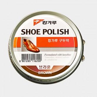 [도매포유]캉가루고체구두약100g 브라운