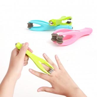 [도매큐] 손가락 마사지기 손바닥 손등 손지압롤러