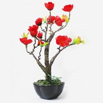 [마이도매]조화화분/매화/꽃/나무/인테리어소품/화분