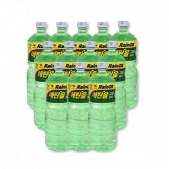 [백승]불스원 에탄올 그린 워셔액 1800ml 12개 한박스