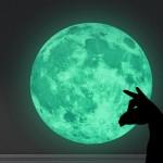 인테리어 야광 달 데코스티커