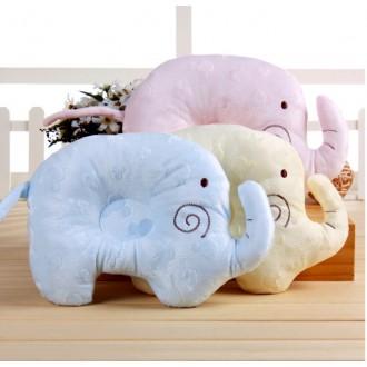 JY2459-코끼리모양 신생아 짱구베개 /목베개 /신생아